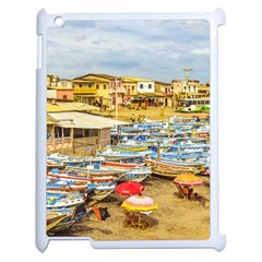 Engabao Beach At Guayas District Ecuador Apple Ipad 2 Case (white) by dflcprints
