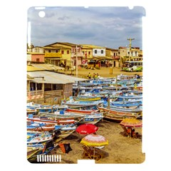 Engabao Beach At Guayas District Ecuador Apple Ipad 3/4 Hardshell Case (compatible With Smart Cover) by dflcprints