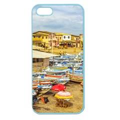 Engabao Beach At Guayas District Ecuador Apple Seamless Iphone 5 Case (color) by dflcprints