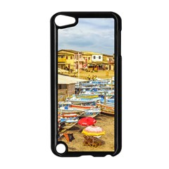 Engabao Beach At Guayas District Ecuador Apple Ipod Touch 5 Case (black) by dflcprints