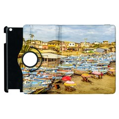 Engabao Beach At Guayas District Ecuador Apple Ipad 2 Flip 360 Case by dflcprints