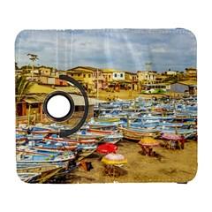 Engabao Beach At Guayas District Ecuador Galaxy S3 (flip/folio) by dflcprints
