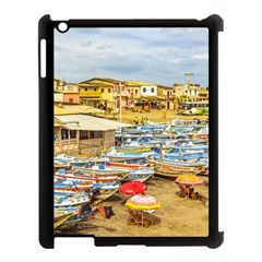 Engabao Beach At Guayas District Ecuador Apple Ipad 3/4 Case (black) by dflcprints