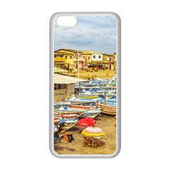 Engabao Beach At Guayas District Ecuador Apple Iphone 5c Seamless Case (white) by dflcprints