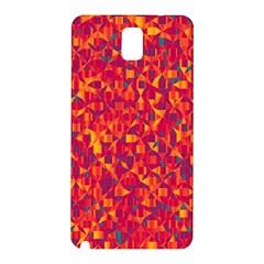 Pattern Samsung Galaxy Note 3 N9005 Hardshell Back Case by Valentinaart