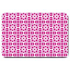 Pattern Large Doormat  by Valentinaart