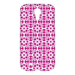 Pattern Samsung Galaxy S4 I9500/i9505 Hardshell Case by Valentinaart