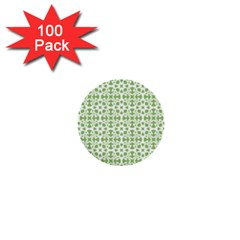 Pattern 1  Mini Buttons (100 Pack)  by Valentinaart