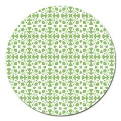 Pattern Magnet 5  (round) by Valentinaart