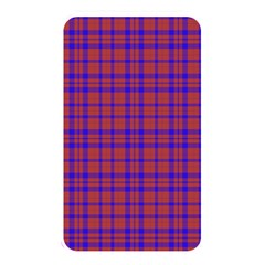 Pattern Plaid Geometric Red Blue Memory Card Reader by Simbadda