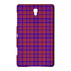 Pattern Plaid Geometric Red Blue Samsung Galaxy Tab S (8 4 ) Hardshell Case  by Simbadda