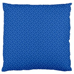 Pattern Large Cushion Case (one Side) by Valentinaart