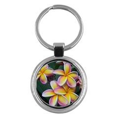 Premier Mix Flower Key Chains (round)  by alohaA
