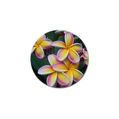 Premier Mix Flower Golf Ball Marker (4 Pack) by alohaA