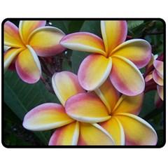 Premier Mix Flower Fleece Blanket (medium)  by alohaA