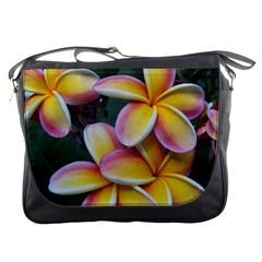 Premier Mix Flower Messenger Bags by alohaA