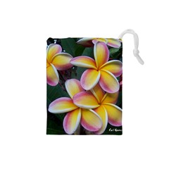 Premier Mix Flower Drawstring Pouches (small)  by alohaA