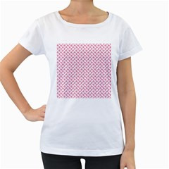 Pattern Women s Loose Fit T Shirt (white) by Valentinaart