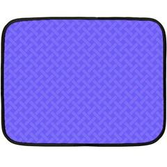 Pattern Fleece Blanket (mini) by Valentinaart