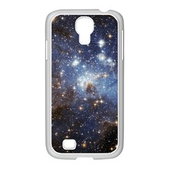 Large Magellanic Cloud Samsung Galaxy S4 I9500/ I9505 Case (white) by SpaceShop