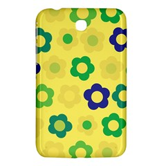 Floral Pattern Samsung Galaxy Tab 3 (7 ) P3200 Hardshell Case  by Valentinaart