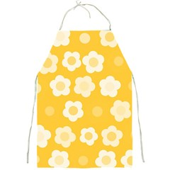 Floral Pattern Full Print Aprons by Valentinaart