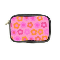 Pink Floral Pattern Coin Purse by Valentinaart