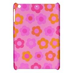 Pink Floral Pattern Apple Ipad Mini Hardshell Case by Valentinaart