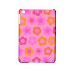 Pink Floral Pattern Ipad Mini 2 Hardshell Cases by Valentinaart