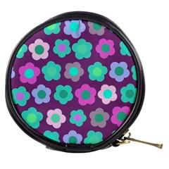 Floral Pattern Mini Makeup Bags by Valentinaart