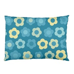 Floral Pattern Pillow Case by Valentinaart