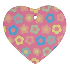 Floral Pattern Ornament (heart) by Valentinaart