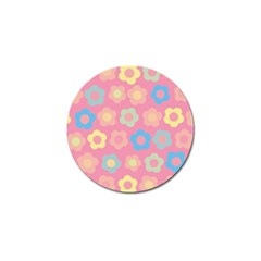 Floral Pattern Golf Ball Marker (10 Pack) by Valentinaart