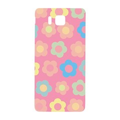 Floral Pattern Samsung Galaxy Alpha Hardshell Back Case by Valentinaart