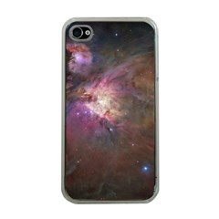 Orion Nebula Apple Iphone 4 Case (clear) by SpaceShop