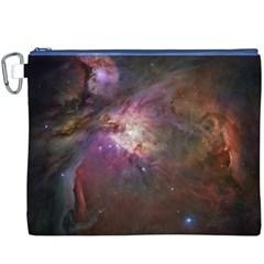 Orion Nebula Canvas Cosmetic Bag (xxxl) by SpaceShop