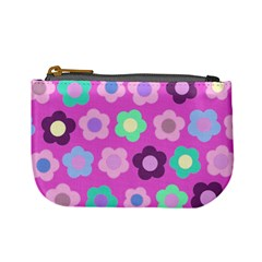Floral Pattern Mini Coin Purses by Valentinaart