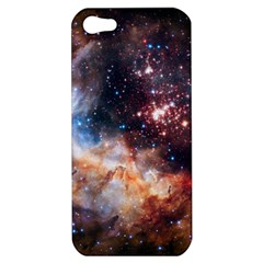 Celestial Fireworks Apple Iphone 5 Hardshell Case by SpaceShop