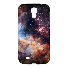 Celestial Fireworks Samsung Galaxy S4 I9500/i9505 Hardshell Case by SpaceShop