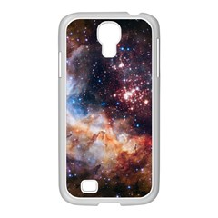 Celestial Fireworks Samsung Galaxy S4 I9500/ I9505 Case (white) by SpaceShop