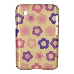 Floral Pattern Samsung Galaxy Tab 2 (7 ) P3100 Hardshell Case  by Valentinaart