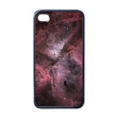 Carina Peach 4553 Apple Iphone 4 Case (black) by SpaceShop