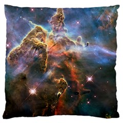 Pillar And Jets Large Flano Cushion Case (two Sides) by SpaceShop