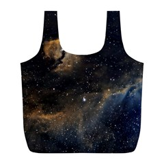 Seagull Nebula Full Print Recycle Bags (l)  by SpaceShop