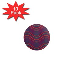 Pattern 1  Mini Magnet (10 Pack)  by Valentinaart