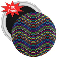Pattern 3  Magnets (100 Pack) by Valentinaart
