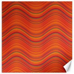 Pattern Canvas 20  X 20   by Valentinaart