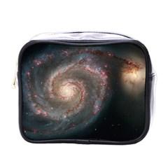 Whirlpool Galaxy And Companion Mini Toiletries Bags by SpaceShop