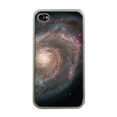 Whirlpool Galaxy And Companion Apple Iphone 4 Case (clear) by SpaceShop