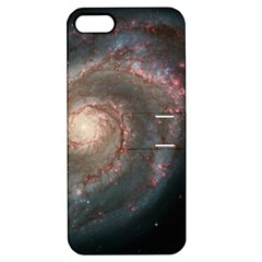 Whirlpool Galaxy And Companion Apple Iphone 5 Hardshell Case With Stand by SpaceShop